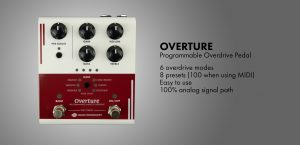 Overture Programmable Analog Overdrive Pedal