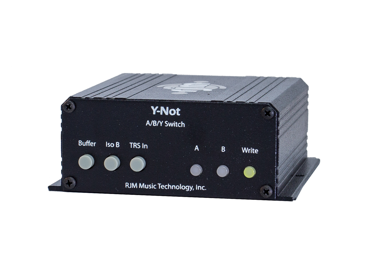 Y Not Rjm Music Technology Inc 2 Way Audio Switch Box The Ultimate A B