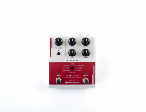 Overture Programmable Overdrive Pedal - Front View