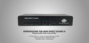 Mini Effect Gizmo X Programmable Audio Loop Switcher